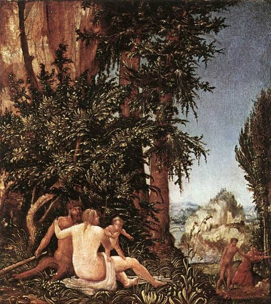 Landscape With Satyr Family